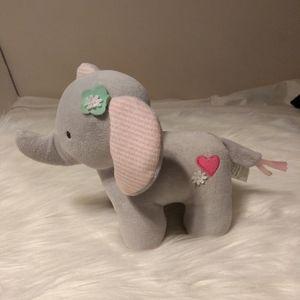 Infant plush elephant new no tag